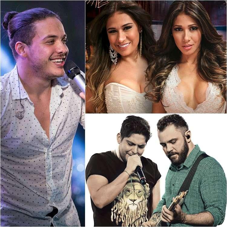 Wesley Safadão, Simone e Simaria e Jorge e Mateus confirmados no Villa Mix Festival Goiânia