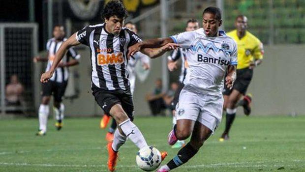 Atlético-MG e Grêmio ficam no 0 a 0 em Belo Horizonte