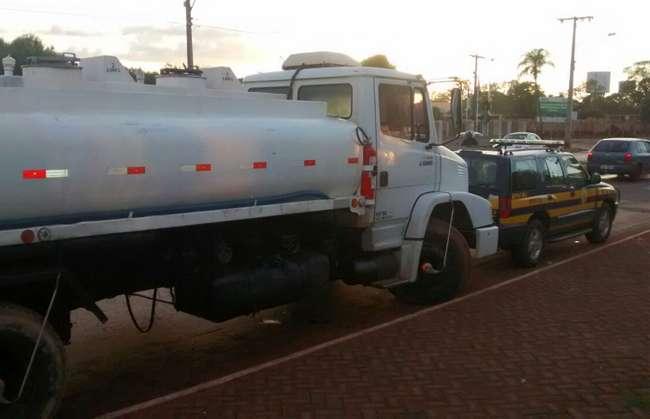 Três homens são presos com carga irregular de combustíveis, em Maurilândia