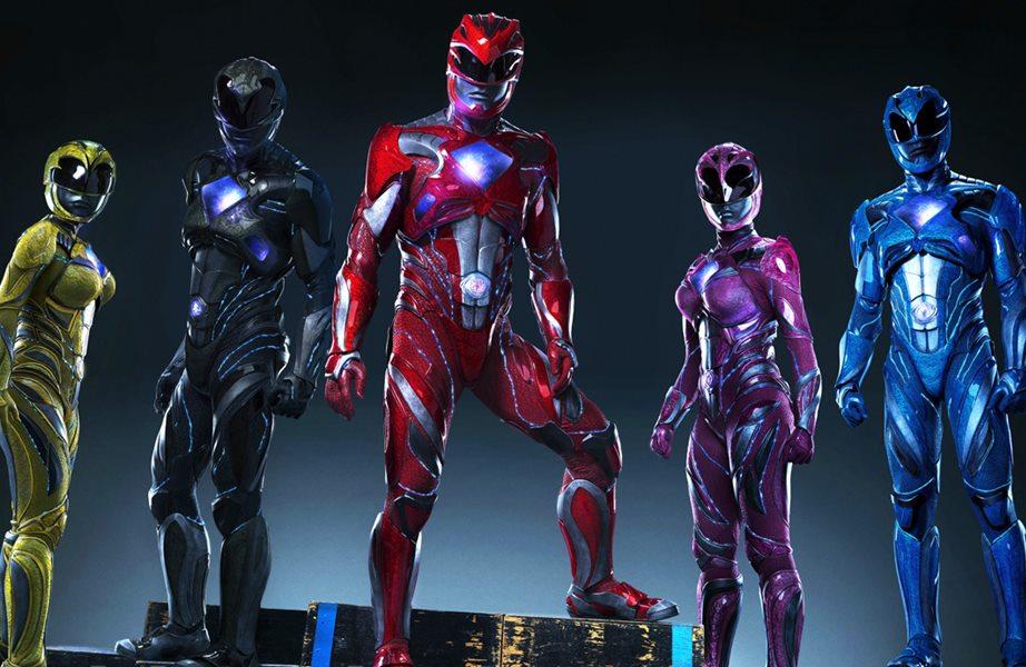 Veja os Power Rangers em ação em novo trailer