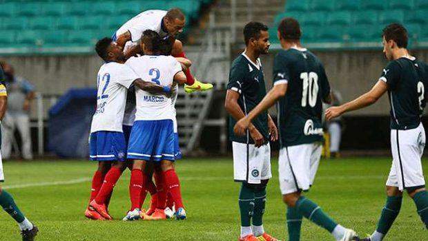 Goiás falha nas finalizações e perde para o Bahia por 1 a 0, em Salvador