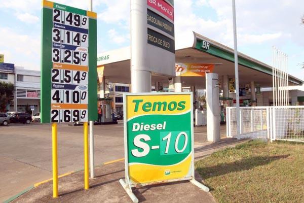 Governo prepara reajuste da gasolina