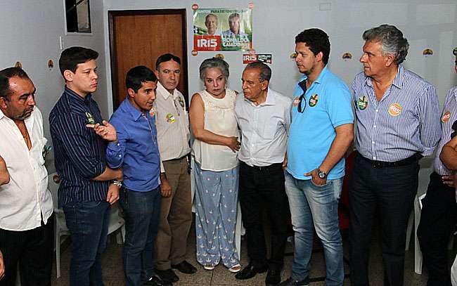 Iris Rezende recebe apoio de políticos que eram ligados à base aliada do governo