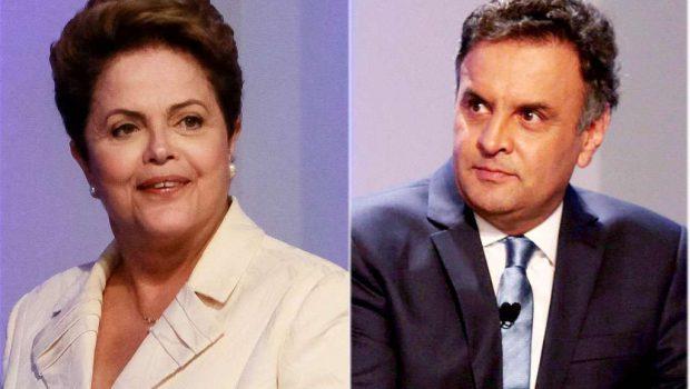 Instituto Paraná de Pesquisas/Época: Aécio tem 54% e Dilma, 46%