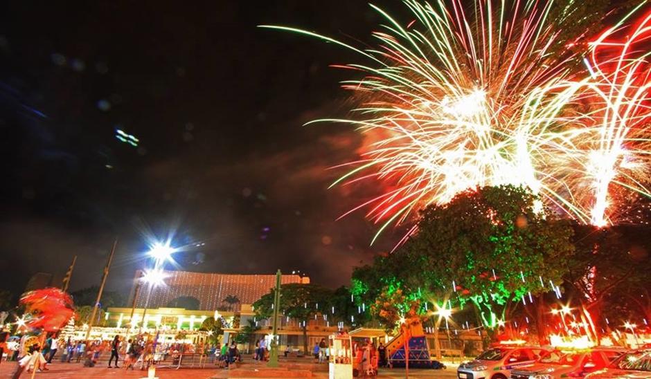 Show de Natal na Praça Cívica é aberto