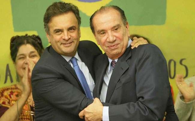 Vice de Aécio Neves, Aloysio diz que 'ódio' é único discurso do PT