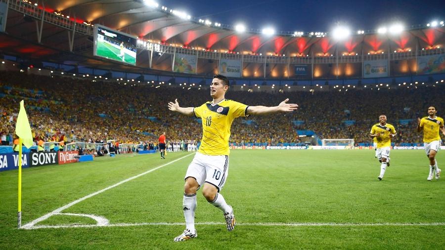 Lesionado, James Rodríguez é cortado pela Colômbia e retorna ao Real Madrid