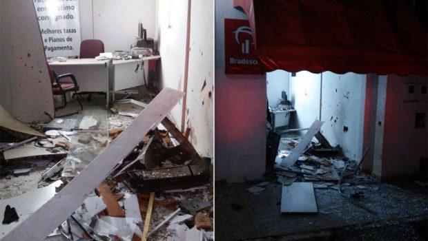 Cinco jovens são presos após explodirem caixa eletrônico em Brazabrantes