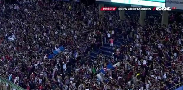 San Lorenzo e Nacional empatam no 1º jogo da final da Libertadores