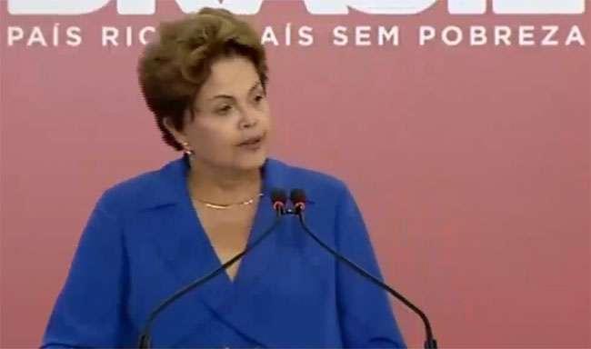 """""""Não represento o PT"""", diz Dilma"""