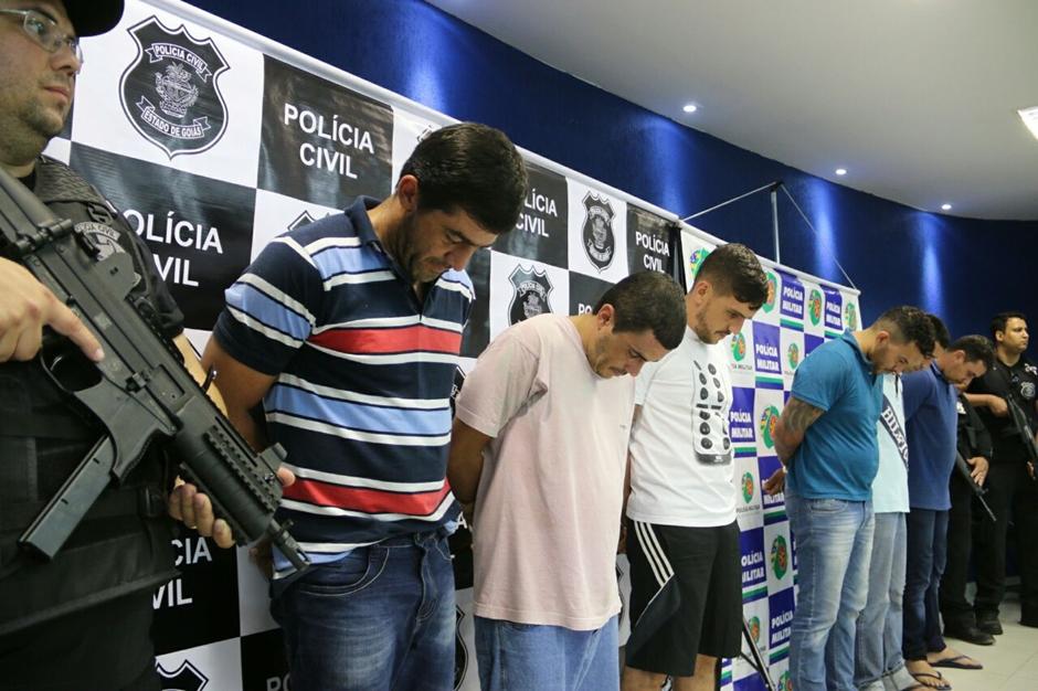 Seis homens são presos por desviarem cargas avaliadas em mais de R$ 15 milhões