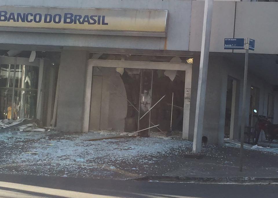 Agência bancária é explodida no Setor Bueno, em Goiânia