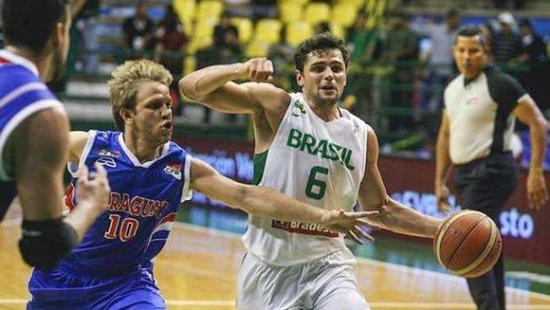 Brasil vence na estreia do Sul-Americano de basquete