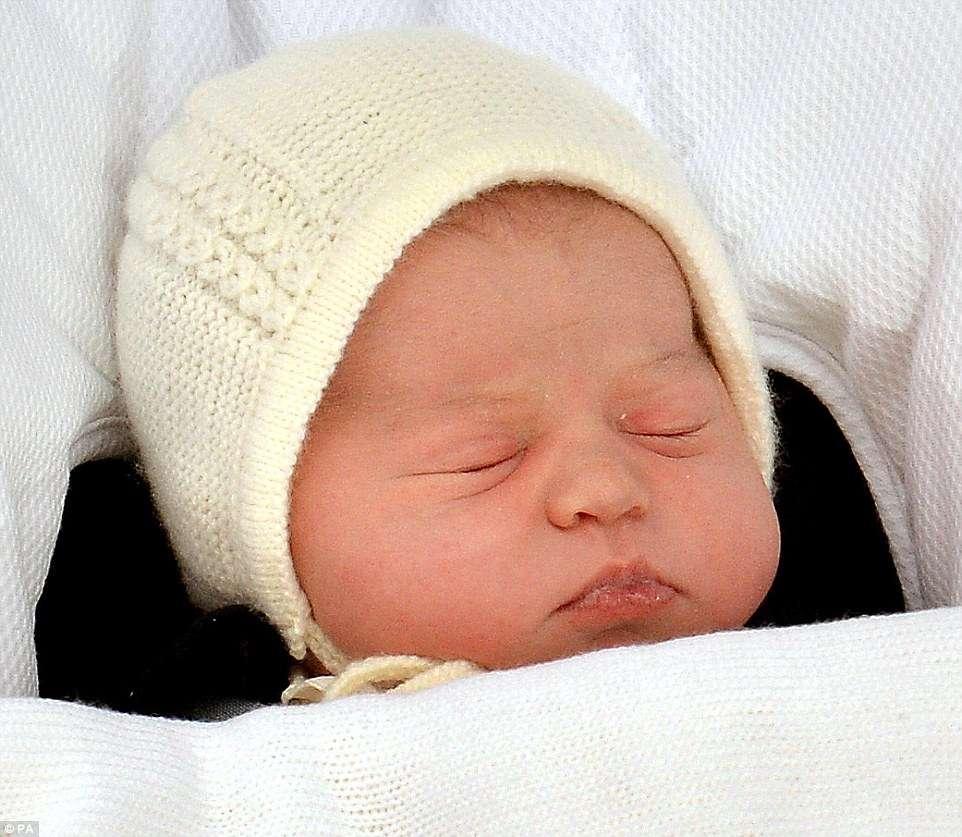 Filha do príncipe William e Kate se chama Charlotte Elizabeth Diana