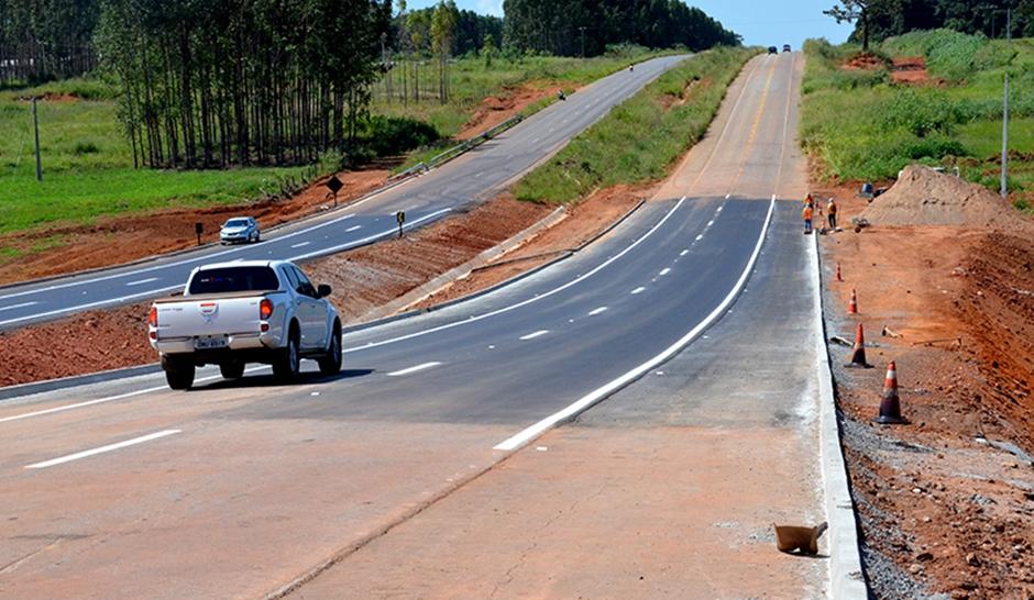 Trecho da GO-070 será totalmente interditado para obras de duplicação da via