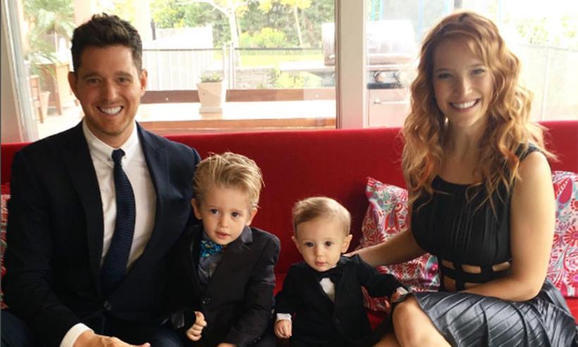 Filho de 3 anos de Michael Bublé tem câncer