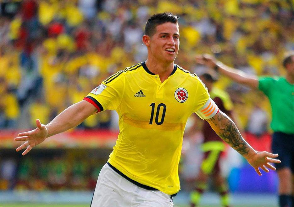 Próximo rival do Brasil, Colômbia perde dois pênaltis, mas vence Venezuela