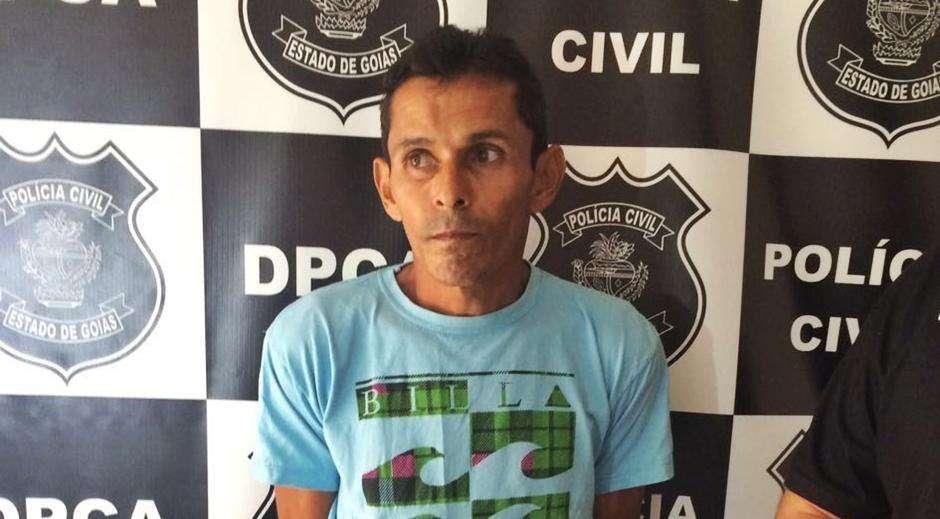 Pedreiro é preso suspeito de estuprar a enteada em Goiânia