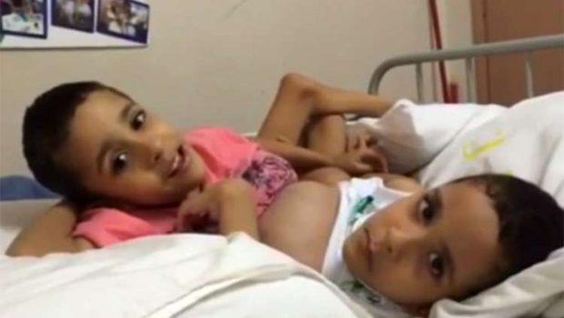 Continua grave estado de saúde do gêmeo Heitor Brandão, diz hospital