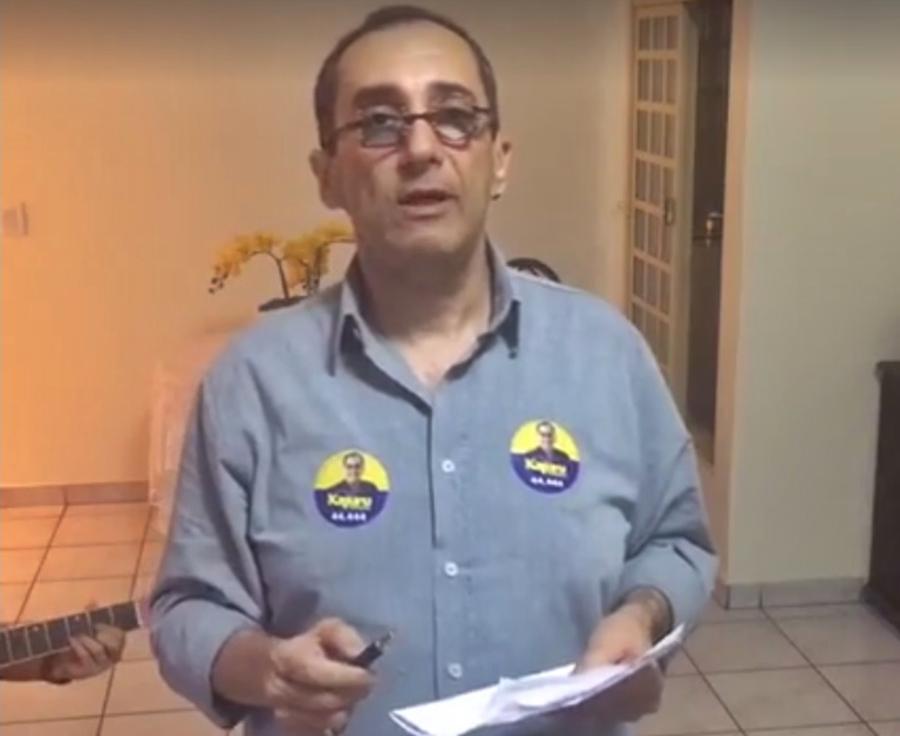 """Kajuru promete ser o """"maior e melhor"""" vereador da história de Goiânia"""