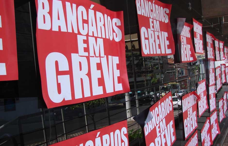 Bancários anunciam greve a partir da próxima terça-feira
