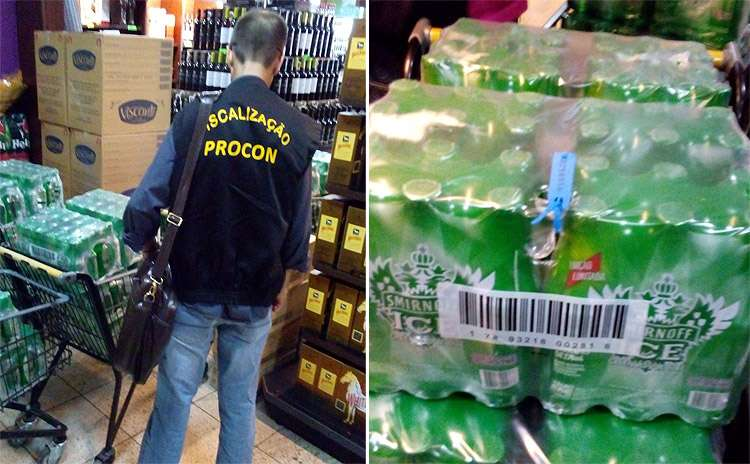Adega no Setor Bueno é flagrada vendendo bebidas com data de validade vencida