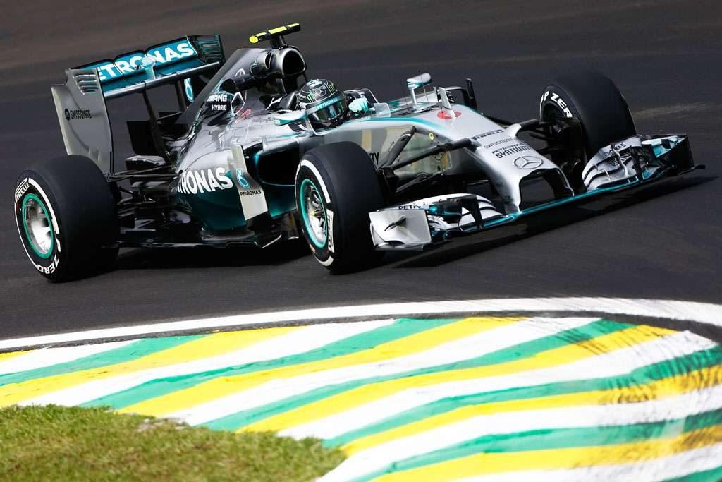 Rosberg fatura pole do GP do Brasil e Massa larga em 3º