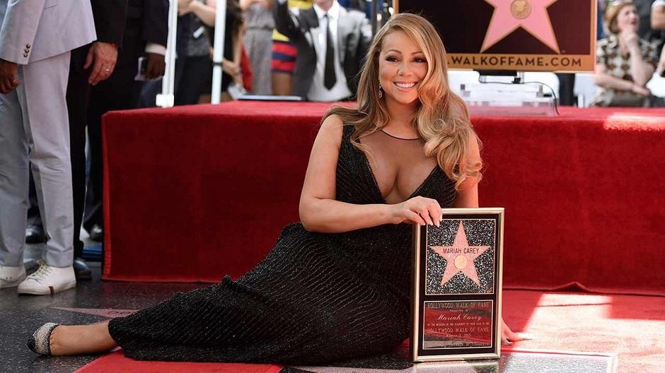 Estrela da fama de Mariah Carey foi vandalizada