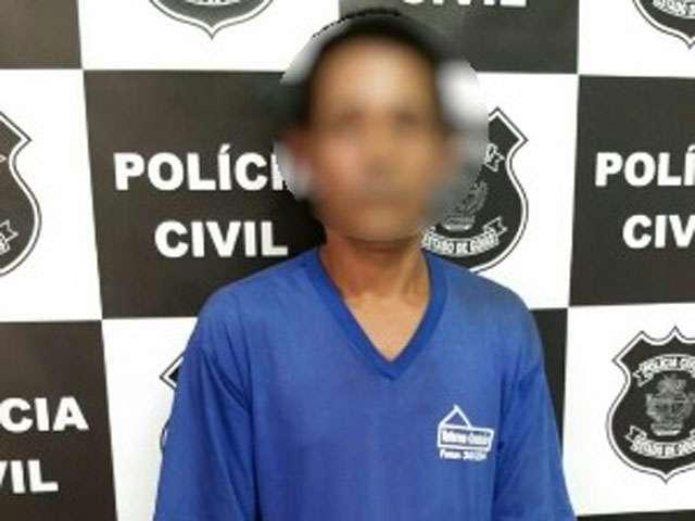 Homem é preso suspeito de estuprar a filha e filmar o crime