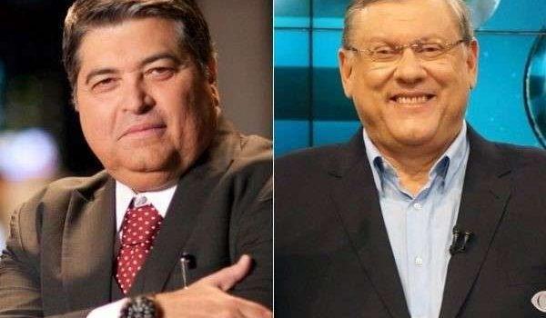 Briga entre Datena e Milton Neves teve soco e laudo no IML, diz colunista