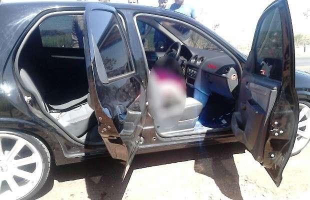 Jovem morre após ser baleado dentro de carro na GO-080, em Goianésia; mãe e 2 amigas se ferem