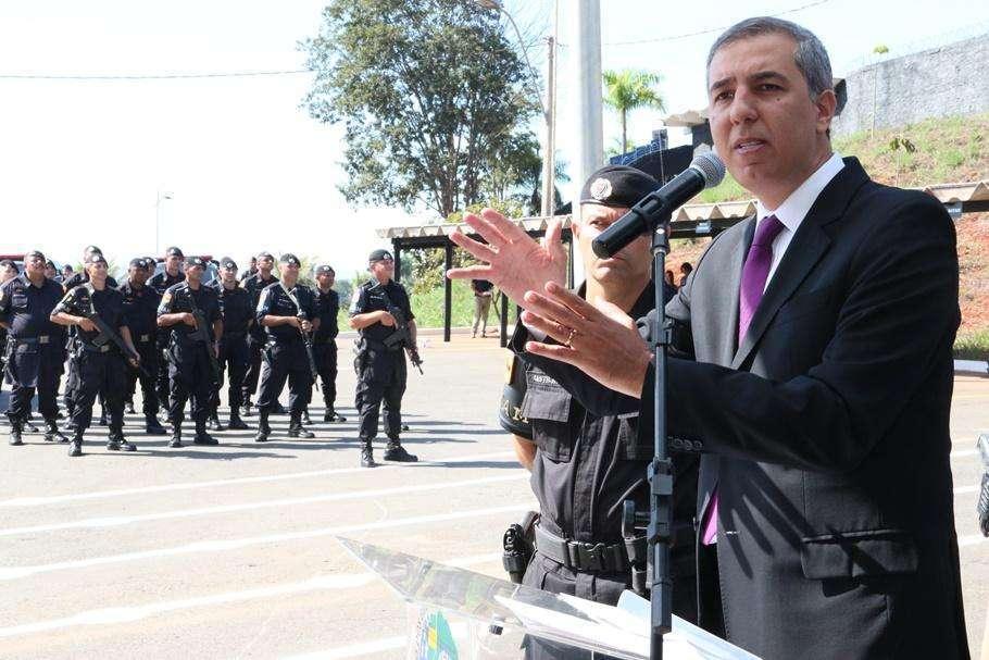 José Eliton anuncia a criação de novo Batalhão da Rotam no Entorno do DF