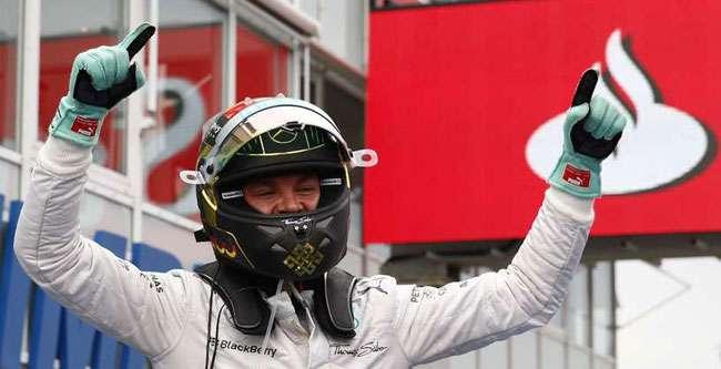 Rosberg vence na Alemanha e segue líder; Massa bate