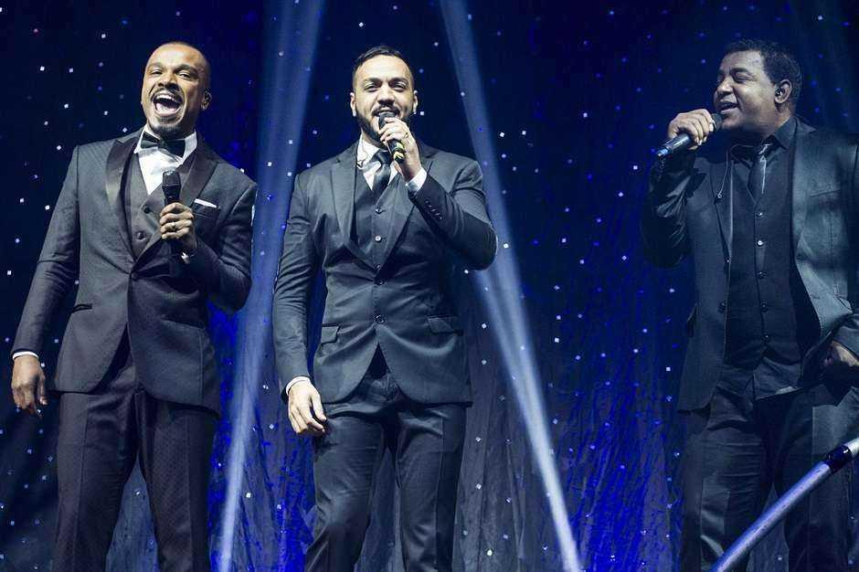Alexandre Pires, Belo e Luiz Carlos fazem show Gigantes do Samba II