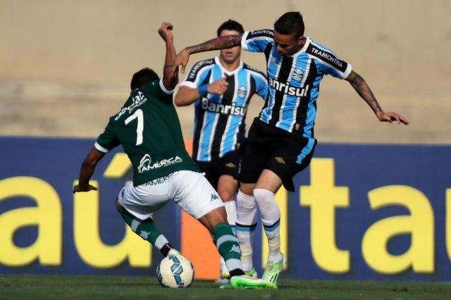 No Serra Dourada, Goiás empata com Grêmio em 1 a 1