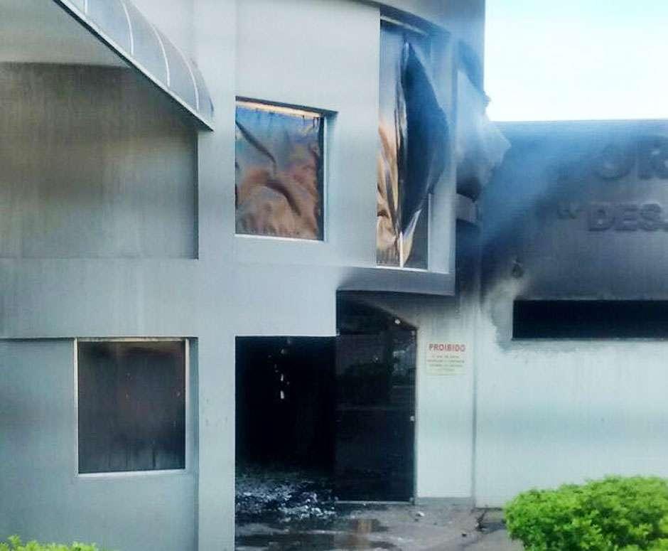 Presos os autores de incêndio no Fórum de Goiatuba