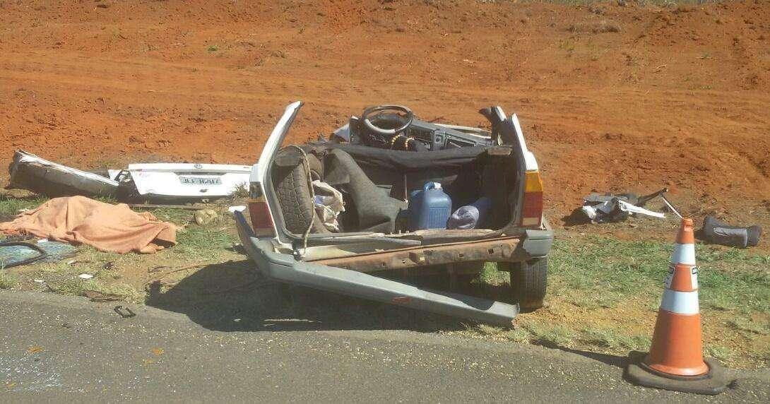 Colisão entre veículos mata três pessoas da mesma família em Campo Alegre