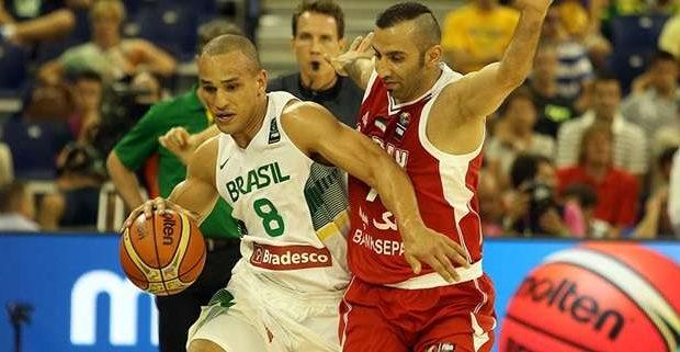 Brasil atropela Irã no basquete e vence 2ª no Mundial