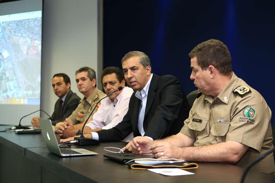 Mil policiais farão a segurança do amistoso da seleção olímpica em Goiânia