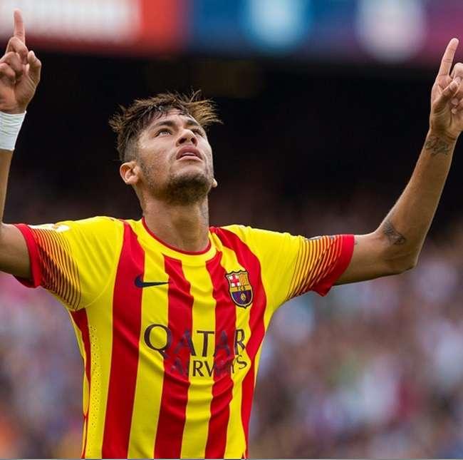 Neymar faz 2 gols e dá vitória ao Barcelona no Espanhol