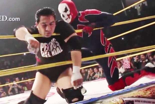 Lutador morre durante evento de luta livre, no México