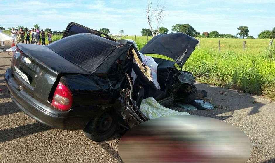 Morre a quarta vítima do acidente ocorrido na GO-417, em São Luís de Montes Belos