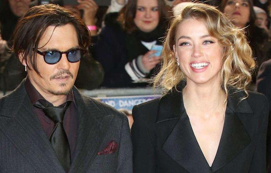 Amber Heard pede divórcio e acusa Johnny Depp de violência doméstica