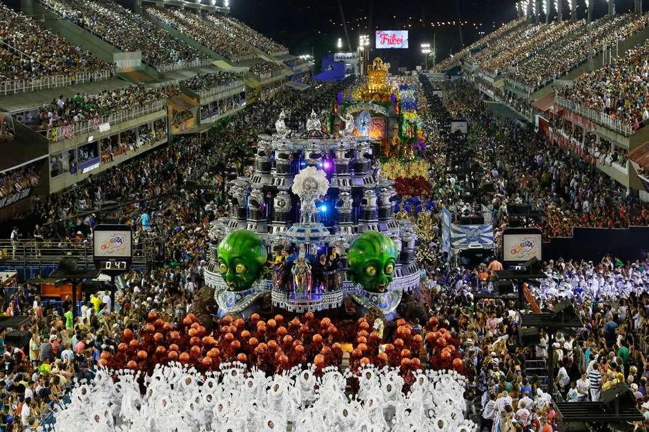 Mangueira é Campeã do Carnaval do Rio de Janeiro