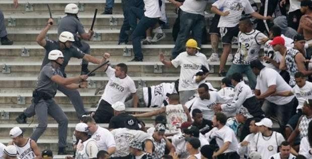 Corinthians perde um mando por briga de organizadas