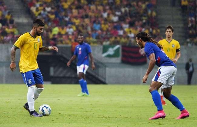 Contra o Haiti, Gabigol faz dois e Seleção olímpica volta a golear