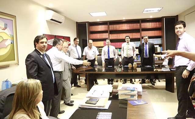 José Maria Sobreiro e advogados associados apoiam Flávio Buonaduce