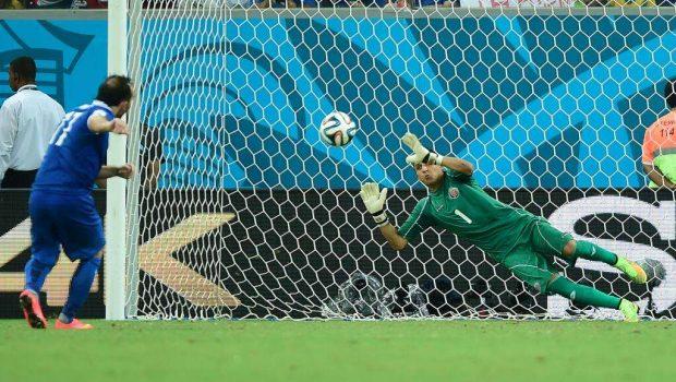 Costa Rica vence Grécia por 5 a 3 nos pênaltis