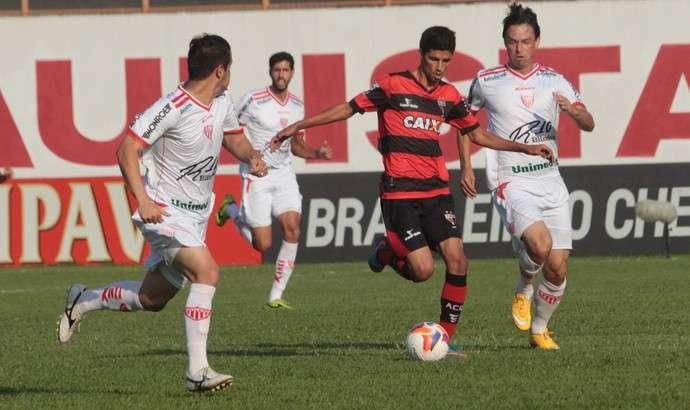 Atlético vence o Mogi Mirim fora de casa e segue sonhando na Série B