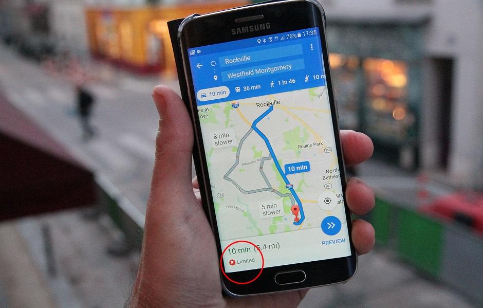 Google Maps em breve vai te ajudar a estacionar